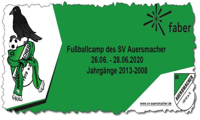 Fußball Camp beim SV Auersmacher