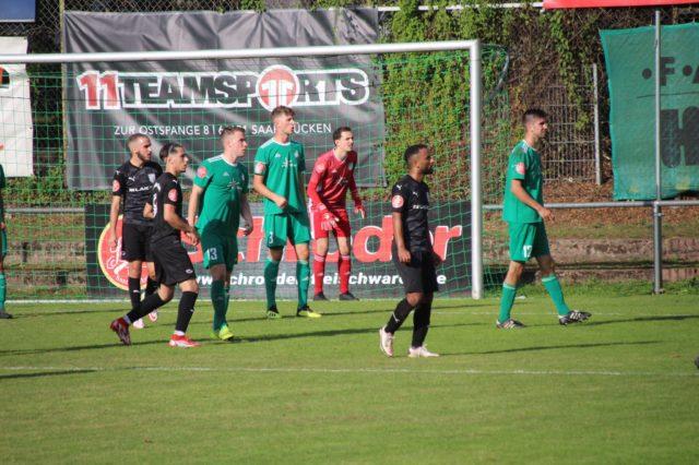 SVA verliert Derby in Brebach mit 1:2 (0:1)